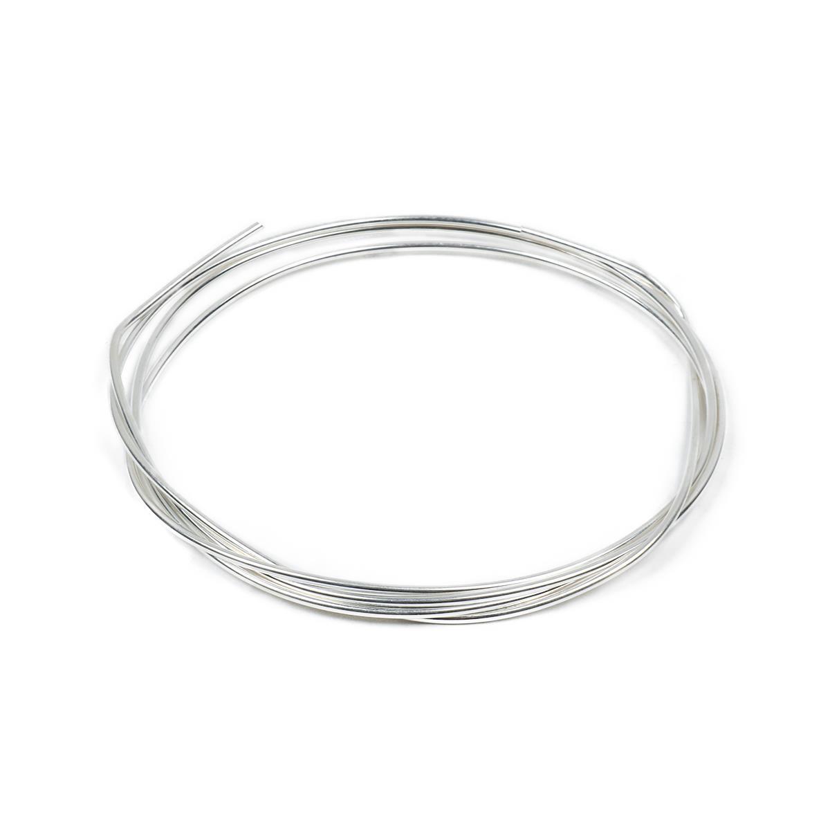 1m 925 Sterling Silver Wire - 1.5mm (18g) | JewelleryMaker.com