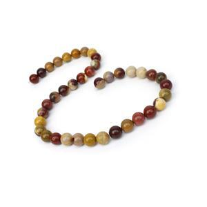 260cts Mookite Plain Rounds Approx 10mm, 38cm Strand