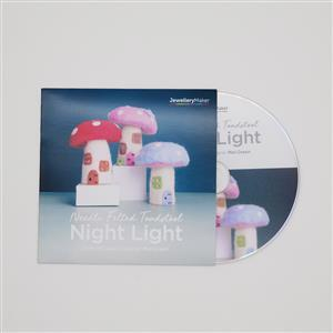 Needle Felted Toadstool Night Light with Mel Green DVD (PAL)