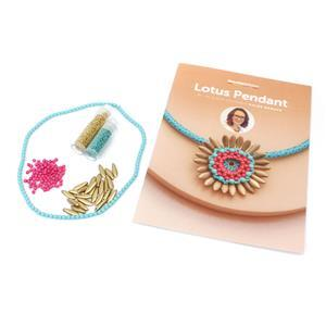 Mermaid Lotus Pendant Kit by Chloe Menage