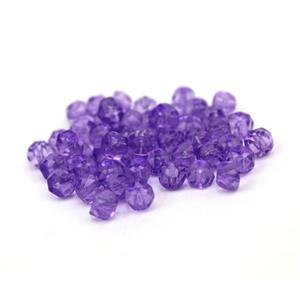 Preciosa Ornela Crystal Solgel Dark Purple Hill Beads Approx 6mm (50pcs)