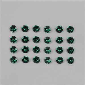 Swarovski Emerald Round Stones 1088 - 4mm, 24pk