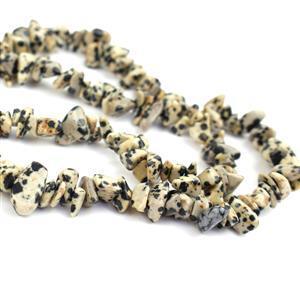 300cts Dalmatian Jasper Small Nuggets, Approx 4x9mm, 84cm