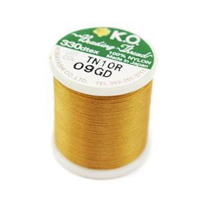 KO Beading Thread Gold Approx 50m