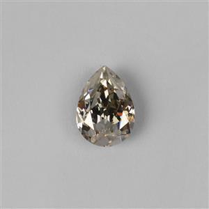 Swarovski Crystal Silver Shade Chunky Pear Fancy Stone 18x13mm - 1pc.