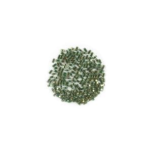 Miyuki Half Tila Gold Lustre Olive Green Beads Approx 5x2mm (7.8GM/TB)