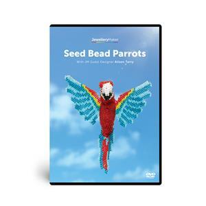 Seed Bead Parrots DVD & Pattern with Alison Tarry