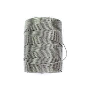 70m Gunmetal Nylon Cord 0.4mm