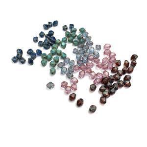 Antik Bead Collection; Czech Antik Beads 8x6mm 5x25pcs