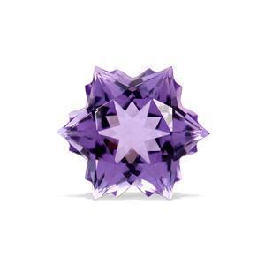 3.8cts  Amethyst 10x10mm Snowflake  (H)