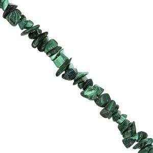 620cts Malachite Bead Nugget Approx 3x2 to 9x4mm, 100inch Strand