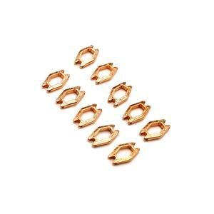 Cymbal Alado - SuperDuo Connector - Rose Gold Plated (10pk)