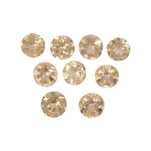 1.7cts Imperial Garnet 3.5x3.5mm Round Pack of 9 (N)