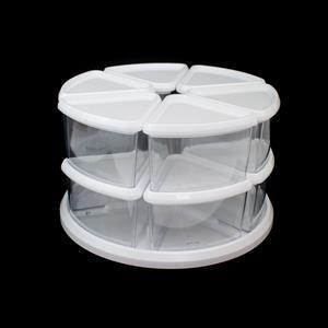 Deflecto Storage 9 Tub Carousel Approx 28x16x28cm