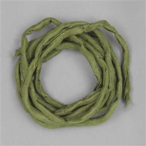 1m Olive Silk Strings Approx 2mm