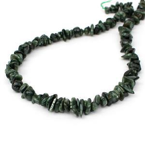 130cts Seraphinite Small Nuggets Approx 5x1-9x5mm, 38cm Strand