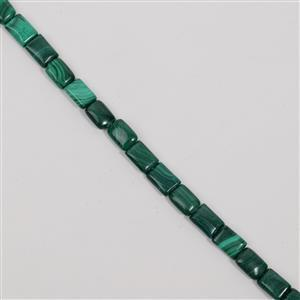 315cts Malachite Fancy Rectangle Approx 10x14mm, 38cm