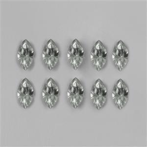 Swarovski Crystal Silver Shade Navette 10x5mm 4228 12pk