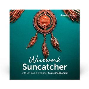 Suncatcher Wirework Kit with Claire Macdonald DVD (PAL)