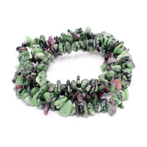 300cts Ruby Zoisite Small Nuggets Approx 6x2-10x5mm, 80cm