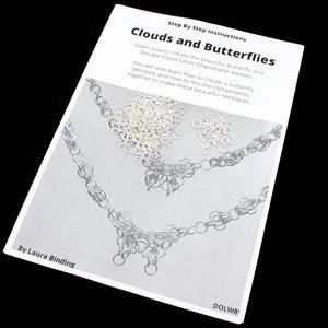 Textured Clouds & Butterfly Chainmaille Kit with Booklet by Laura Binding