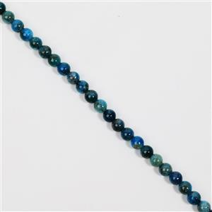 115cts Neon Apatite Plain Rounds Approx 6mm, 38cm
