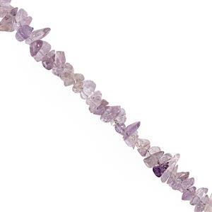 390cts Pink Amethyst Bead Nugget Approx 3x1.5 to 9x3mm, 100inch Strand