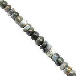 16cts Alexandrite Smooth Rondelle Approx 1.5x1 to 4x2.5mm, 18cm Strand