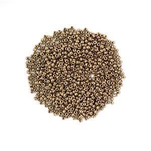 Miyuki Metallic  Dark Bronze Seed Beads 8/0 (22GM/TB)
