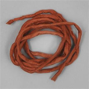 1m Terracotta Silk String Approx  2mm