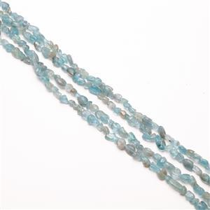 440cts Sky Blue Apatite Nuggets Approx 8x5mm, 60