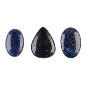 145cts Azurite Malachite Multi Shape Cabochons Assortment.