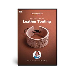 Alison Tarry's - Introduction To Leather Tooling DVD (PAL)