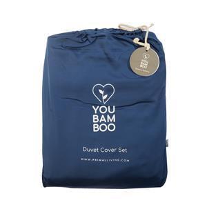 YouBamboo Single Size Blue Bedding Set