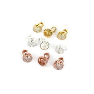 Tassel Cap Bundle; Rose Gold, Gold & Silver Plated Tassell End Caps