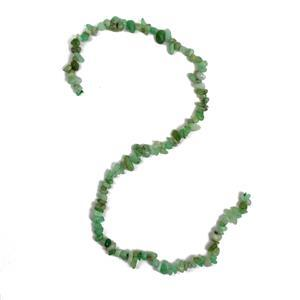 120cts Chrysoprase Small Nuggets Approx 3x4-6x10mm, 38cm strand