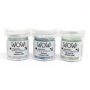 Wow - Trio Caribbean Charm - Embossing Powders Inspired by Marion Emberson