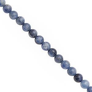 70cts Kyanite Smooth Round Approx 6mm, 20cm Strand
