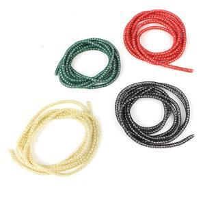 Knitted Wire Selection. Inc Gold, Black, Red & Emerald Knitted Wire