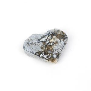 Amethyst Cluster Hearts