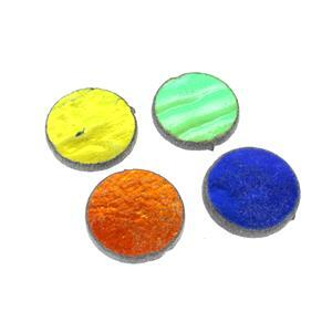 Fuseworks 90 COE Dichroic Fusible Glass Rounds (4pk)