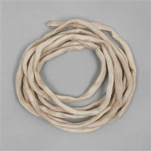 1m Tan Silk Strings Approx 2mm