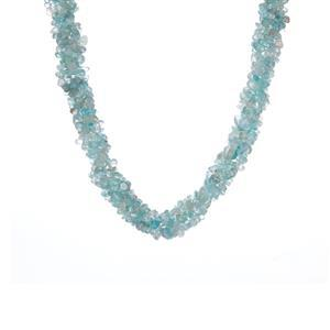 363.10ct Apatite Sterling Silver Necklace