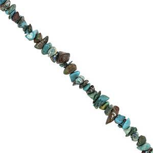 280cts Chrysocolla Nugget Approx 2x1 to 10x4mm,100 inch Strand