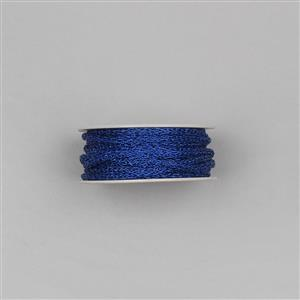 10m Royal Blue Zari Rope Approx 4mm