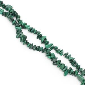 340cts Malachite Small Nuggets Approx 3x4- 5x11mm, 84cm
