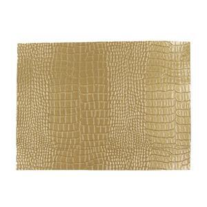 Synthetic-Leather Gold Semi-Gloss 7x10.5in