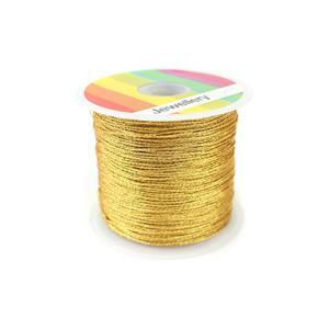 Gold Sparkle Nylon Thread, Approx 0.5mm (30m)