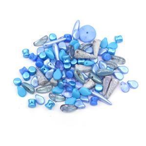 Preciosa Ornela Trade Mark Bead Mix - Blue (20g)