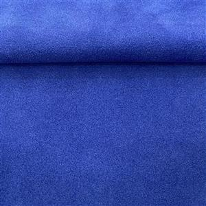 Royal Blue Silky Calf Suede 6x6